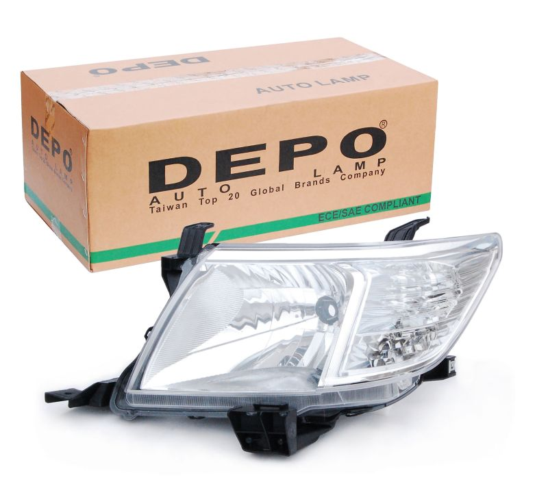 Depo Left Hand Headlight Hilux Pickup