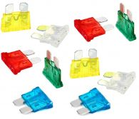 Pack of 10 Standard Size Blade Fuses