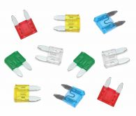 Pack of 10 Mini Size Blade Fuses