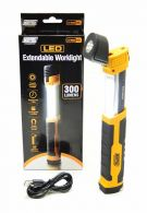 Maypole 300 Lumens LED Handheld Extendable Worklight MP4054