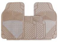 Cosmos Universal Beige Carpet & Rubber Floor Mats