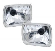 Performance Chrystal Multi-Reflector Square Headlamps