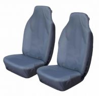 Cosmos Super Heavy Duty Grey Front Seat Covers