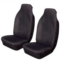 Cosmos Super Heavy Duty Black Front Seat Covers
