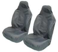 Maypole Waterproof Dark Grey Front Seat Covers