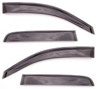 Tinted Wind Deflectors Double Cab - Set of 4