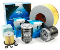 AMC Oil Air Fuel and Pre Fuel Filters