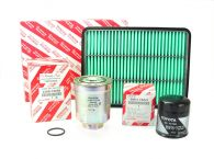 Genuine Toyota Oil Air and Fuel Filters