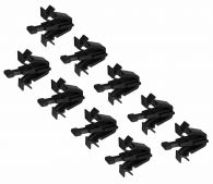 Set of 9 Genuine Front Radiator Grille Clips