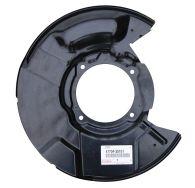 Front Brake Disc Backing Plate Left Hand