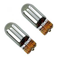 Chrome Plated Side Repeater Bulbs 12V/5W