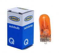 Ring Front Indicator Bulb - AMBER - Single Filament Capless RB501A
