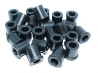Pack of 24 Rubber Bushes for the Front & Rear Leaf Springs