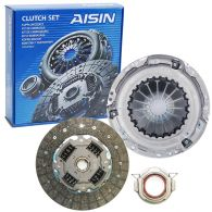 Aisin 3 Piece Clutch Kit 236mm with Solid Flywheel