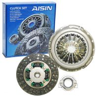 Aisin 3 Piece Clutch Kit (Diesel) 260mm - for Solid Flywheel
