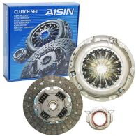 Aisin 3 Piece Clutch Kit (Diesel) 236mm with box