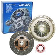 Aisin 3 Piece Clutch Kit (Diesel) 224mm - compatible with dual-mass only