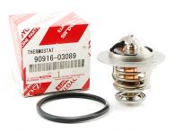 Genuine Toyota Thermostat & Seal 76°C