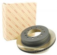Genuine Toyota Rear Brake Disc Outer View