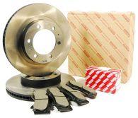 Genuine Toyota Front Brake Disc & Pad Kit