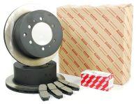 Genuine Toyota Rear Brake Disc & Pad Kit