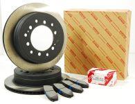 Genuine Toyota Rear Brake Discs & Pad Kit