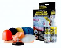 E-Tech Plastic Headlamp Lens Restoration Kit