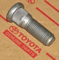 Genuine Toyota Front or Rear Wheel Stud