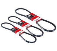 Gates 3 Piece Alternator Fan Belt Kit