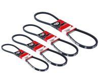 Gates 4 Piece Alternator Fan Belt Kit