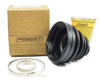 Febest Inner CV driveshaft boot with grease and clips