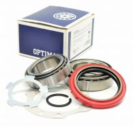 Optimal Front Wheel Bearing Kit - Inner & Outer brgs with cups