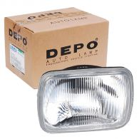 Depo Left or Right Square Headlamp