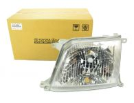 Genuine Toyota Left Hand Headlamp Clear Lens With Adjustable Levelling