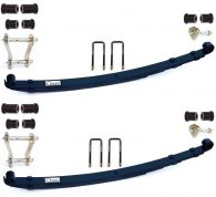 Owens Heavy Duty Front Leaf Spring Kit (Pair) with hardware fitting kit