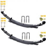 Owens Rear Leaf Spring Kit (Pair) with Non Grease-able pins