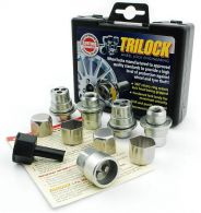 Trilock Flat Seat Locking Wheel Nuts with Washer M12x1.5mm