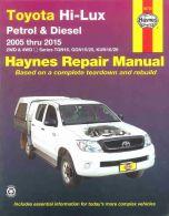 Haynes Workshop Repair Manual Hilux Pickup 2005-2015