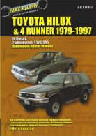 Max Ellery Workshop Repair Manual Hilux Pickup 1979-1997 Diesel
