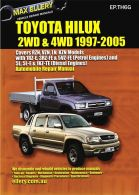Max Ellery Workshop Repair Manual Hilux Pickup 1997-2005