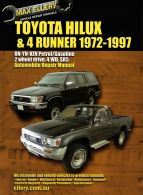 Max Ellery Workshop Repair Manual Hilux 1979-1997 Petrol