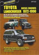 Max Ellery Workshop Repair Manual Land Cruiser 1972-1990