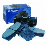 Aisin Optamix Front Brake Pad Set with box