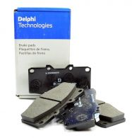 Delphi Front Brake Pad Set - LP854 - fits both front calipers
