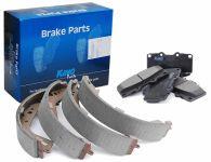 Kavo Front Brake Pad & Rear Shoe Kit - R90 Approved