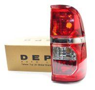 Depo Right Hand Rear Light Assembly 2011-2016 (Red Fog Lamp Lens)