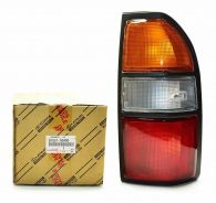 Genuine Toyota Rear Lamp 81551-60490 - Amber/Clear/Red lens