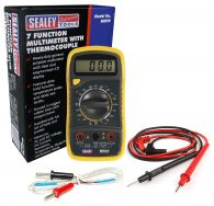Sealey Digital Multimeter 8 Function with Thermocouple
