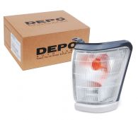 Depo Left Hand Front Side Lamp Indicator with Grey Surround