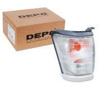 Depo Right Hand Front Side Lamp Indicator with Grey Surround
